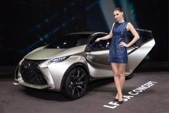 Het Concept van de de Stadsauto van Lexus LF-SA Royalty-vrije Stock Foto