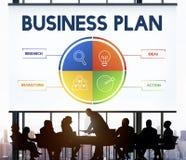 Het Concept van de de Strategieontwikkeling van het Businessplan stock foto's