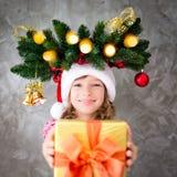 Het Concept van de de Vakantiewinter van Kerstmiskerstmis Royalty-vrije Stock Fotografie
