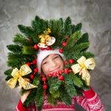 Het Concept van de de Vakantiewinter van Kerstmiskerstmis Stock Foto's
