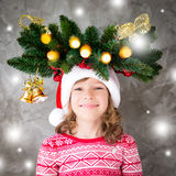 Het Concept van de de Vakantiewinter van Kerstmiskerstmis Royalty-vrije Stock Foto's