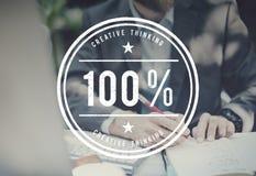 100% het Concept van de de Verbeeldingsinspiratie van Creativiteitideeën Royalty-vrije Stock Afbeelding