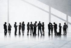 Het Concept van de de Vergaderingsbespreking van de bedrijfsmensenconferentie stock foto