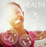 Het Concept van de de Vitaliteitsgezondheidszorg van Wellness van het gezondheidswelzijn royalty-vrije stock foto's