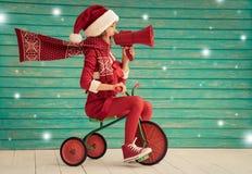 Het concept van de de wintervakantie van Kerstmiskerstmis vector illustratie