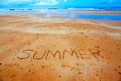Het concept van de de zomertijd Royalty-vrije Stock Afbeelding