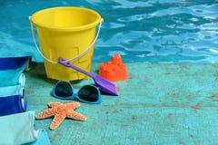 Het concept van de de zomertijd Stock Afbeeldingen