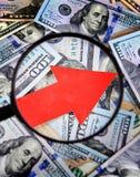 Het Concept van de dollargroei Royalty-vrije Stock Afbeelding