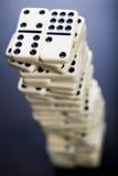 Het concept van de domino Royalty-vrije Stock Afbeelding