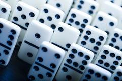 Het concept van de domino Royalty-vrije Stock Foto