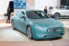Het concept van de dondermacht EV Royalty-vrije Stock Foto