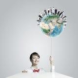 Het concept van de ecologie Stock Afbeeldingen