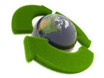 Het concept van de ecologie stock illustratie