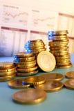 Het Concept van de economie royalty-vrije stock afbeelding
