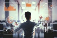 Het concept van de economie Stock Foto's