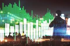 Het concept van de economie Stock Afbeelding