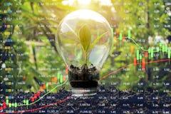 Het concept van de effectenbeursinvestering royalty-vrije stock foto