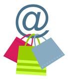 Het concept van de elektronische handel royalty-vrije stock afbeeldingen