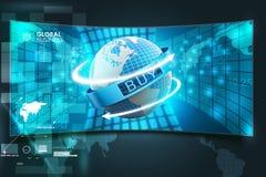 Het concept van de elektronische handel Royalty-vrije Stock Foto