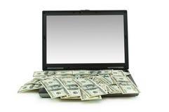 Het concept van de elektronische handel Stock Foto