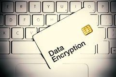 Het Concept van de Encryptie van gegevens stock foto's