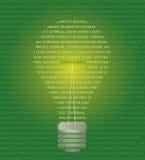 Het concept van de energie Stock Fotografie