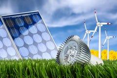 Het concept van de energie Stock Foto