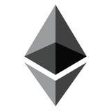 Het concept van de Ethereumencryptie Stock Afbeelding