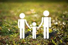Het concept van de familie Stock Afbeeldingen