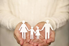 Het concept van de familie Royalty-vrije Stock Afbeelding