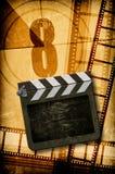 Het concept van de film Stock Foto