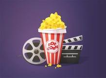 Het Concept van de filmbioskoop Royalty-vrije Stock Afbeeldingen