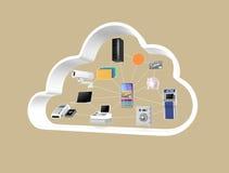 Het concept van de Fintechtechnologie Royalty-vrije Stock Foto