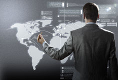 Het concept van de gegevensverwerking Royalty-vrije Stock Afbeeldingen