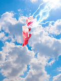 Het Concept van de Gegevensverwerking van de wolk Royalty-vrije Stock Fotografie