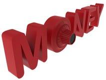 Het concept van de geldkluis Stock Foto