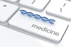 Het concept van de geneeskunde Stock Foto