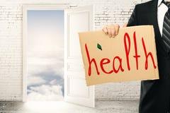 Het concept van de gezondheid Royalty-vrije Stock Foto's