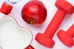 Het concept van de gezondheid en van het dieet Royalty-vrije Stock Foto