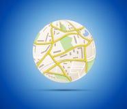Het concept van de globalisering Stock Afbeelding