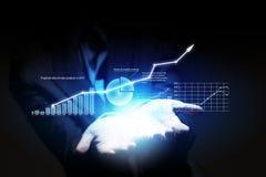 Het concept van de groei Stock Foto's