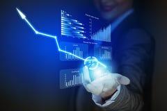 Het concept van de groei Stock Fotografie