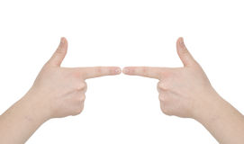 Het concept van de hand royalty-vrije stock foto's