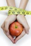 Het Concept van de Hand van het dieet stock afbeeldingen
