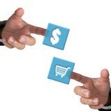 Het concept van de handel. Royalty-vrije Stock Afbeelding