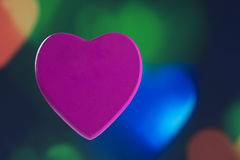 Het concept van de hartliefde Stock Afbeeldingen