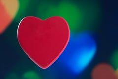 Het concept van de hartliefde Royalty-vrije Stock Foto's