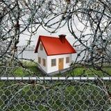 Het Concept van de huisbescherming Royalty-vrije Stock Foto