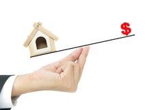 Het concept van de huislening Stock Foto