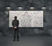 Het concept van de huisverkoop Stock Afbeelding